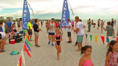 Youth Summer Beach Runs, Our Town Sarasota News Events